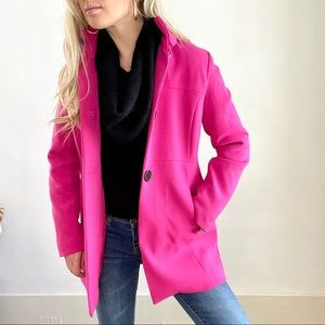 Hot Pink Jacket with Black Buttons New with Tags 4
